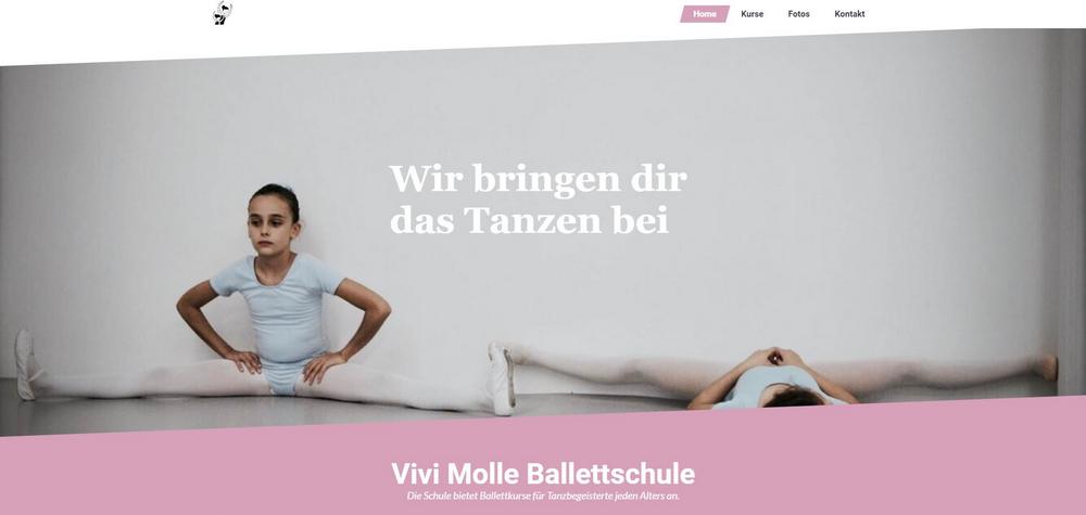 Vivi Molle Ballettschule