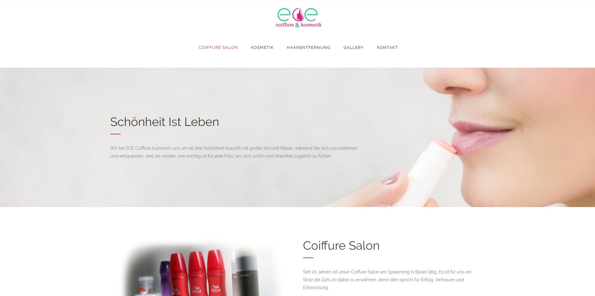 Ece Coiffure – Coiffure & Kosmetik